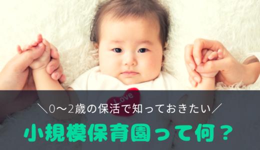 【0~2歳児の保活】小規模保育園を第1希望にした理由